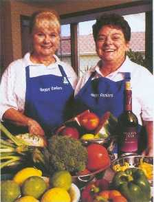 Personal chefs Willette Doczy and Linda Resseli
