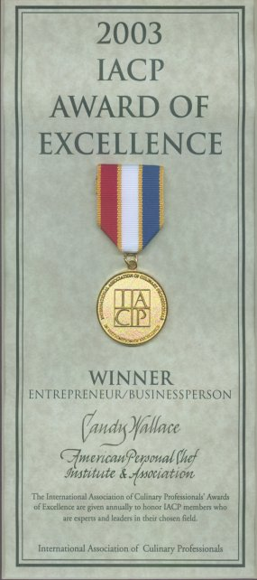 IACP Award of Excellence for Businessperson/Entrepreneur