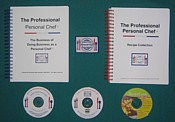 Option A- Home Study Program with DVD A Day in the Life of a Personal Chef Video