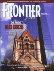 Frontier Magazine March - April 2002 - Someone's in the Kitchen with Dinner