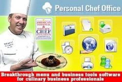 Personal Chef Office - Recipe-Menu and Business Software