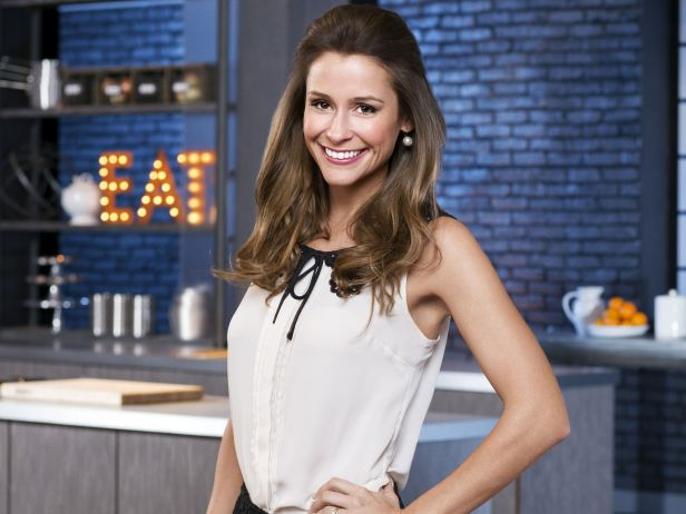 Chef Nicole Gaffney at Food Network